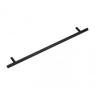 Black Kitchen Cabinet Handles 256mm in T-Bar Design P110513BL