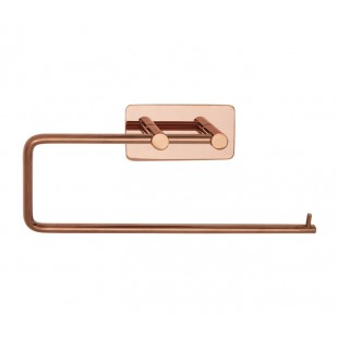 Copper Towel Rail with Self-adhesive Backplate T700CU