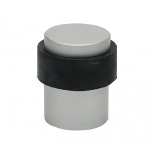 Floor Door Stop 28mm with Buffer Satin Chrome X2830SC