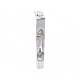 Flush Bolt for French Doors Lever Action 150 x 19mm Satin Stainless Steel A4006S