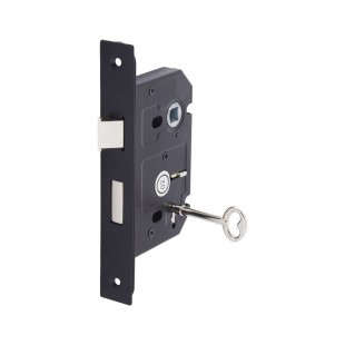 3 Lever Lock for Internal Doors 63mm / 45mm Matte Black L5145BL