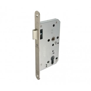Mortice Latch Euro Lock Case 60mm in Satin Stainless Steel L5216011S