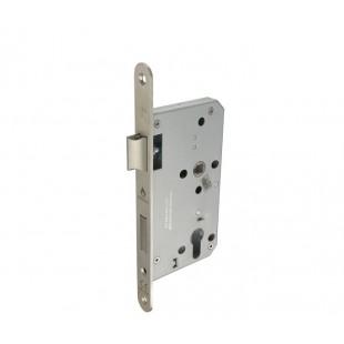 Radius Euro Sash Lock DIN Standard in Satin Stainless Steel L5216012S