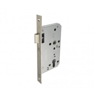 Mortice Door Latch Euro Lock Case with Square Forend Plate L5216021S