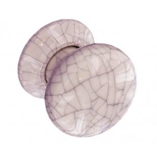 Mortice Door Knobs with 56mm Crackle Glazed Door Knob on Rose A8860CC