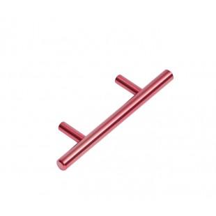 Copper Drawer Handles 64mm with Modern T-Bar Design P110505CU
