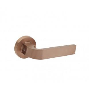 Satin Brushed Copper Door Handles B0310SCU