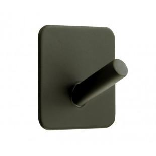 Self Adhesive Coat Hook with Matte Black Single Coat Hook T541BL
