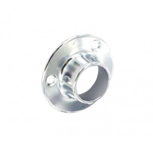 Wardrobe Rail Sockets for 19mm Clothes Hanging Pole B5552