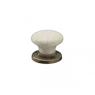 Ceramic Drawer Knobs with Crackle Glaze Finish X88041CE