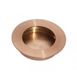 Flush Copper Pull Handle 65mm X88101CU