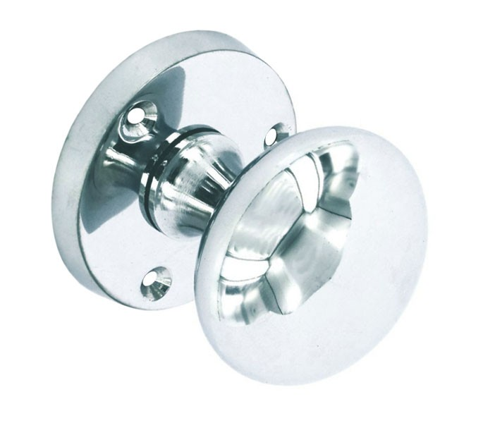 Chrome Door Knobs >> Chrome Door Knobs With 52mm Polished Chrome Knob On Rose A8860pc