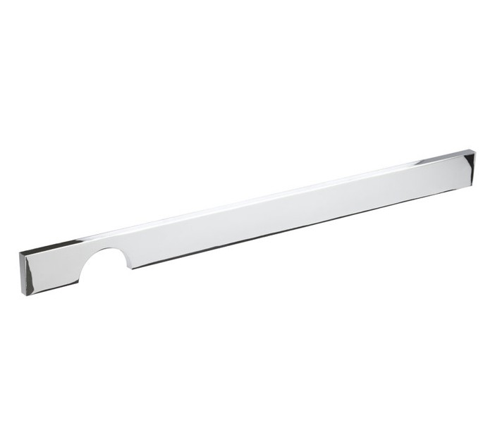 Kitchen Cupboard Handles C Shaped Cut Out Polished Chrome 320mm Centres P01016p Handle King Uk