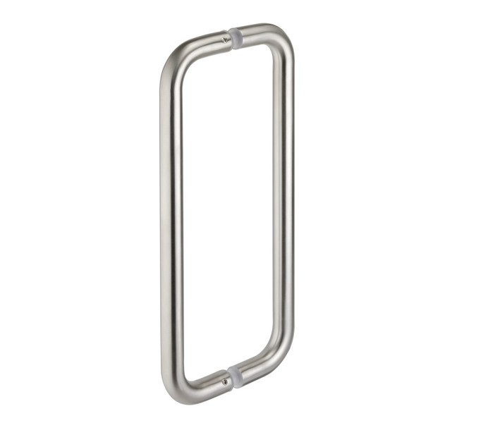 Door Pull Handles D Shaped Back to Back Pull Handles with Polished Finish
