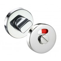 Bathroom Lock Thumb Turn with Indicator 10mm in Polished Stainless Steel A9610P