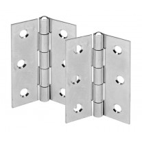 3 Inch Chrome Door Hinges for Internal Doors Satin Finish H01302CP
