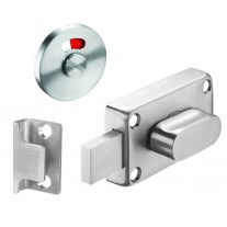 Toilet Cubicle Locks with Indicator and Brushed Stainless Steel Finish C6501S