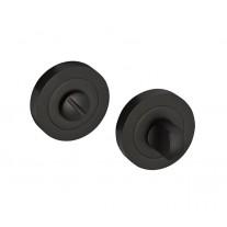 Matte Black Bathroom Lock Thumb Turn & Release D9010BL