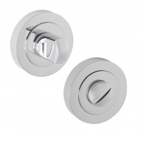 Bathroom Turn and Release with Polished Chrome Finish D9010PA