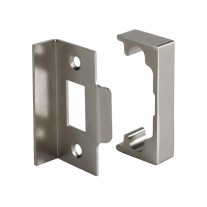 Rebate Kit for Double Doors with Brushed Nickel Finish L2201NP
