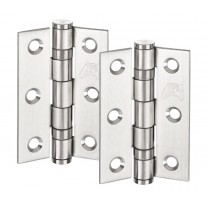 Door Hinge Pairs for internal doors Satin Stainless Steel 3 Inch / 75mm H02303S