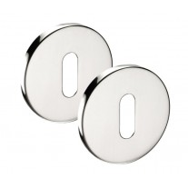 Stainless Steel Keyhole Escutcheon 6mm Pair A8601P