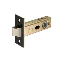 Matte Black Mortice Latch 76mm / 57mm Backset L0157BL