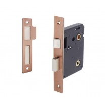 Copper Bathroom Lock 76mm / 57mm Backset L5057CU