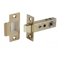 Mortice Latch in Polished Brass - 63mm / 45mm Backset L22163PB