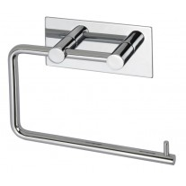 Polished Stainless Steel Stick on Toilet Roll Holder A3203P