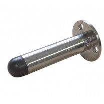 Skirting Door Stop for Skirting Board Brushed Stainless Steel A28103S