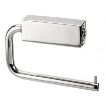 Modern Toilet Roll Holder in Polished Stainless Steel A3202P