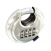 Weatherproof Combination Padlock with Hardened Shackle L11370S