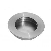 Satin Stainless Steel Round Flush Door Handle 65MM X88101S