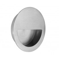 Half Moon Satin Stainless Steel Flush Door Handle 90mm X88110S