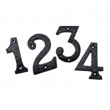Antique Door Numbers for Front Door 3 Inch Numerals 0 - 9 B3350