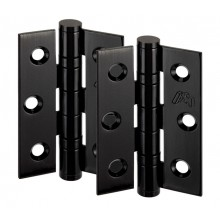 Black Door Hinges for Internal Doors 3 Inch / 75mm H02303B