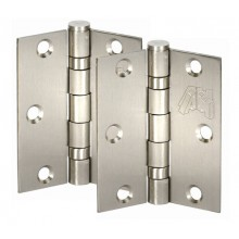 Satin Stainless Steel Door Hinge Pairs 3 Inch / 75mm H02302S