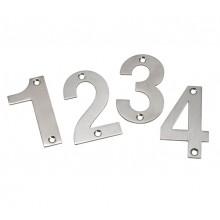 Front Door Numbers 3 Inch Brushed Stainless Steel Door Numbers 0-9 A21300S