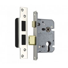 Euro Sash Lock Case 57mm Backset in Satin Stainless Steel SEU522-2
