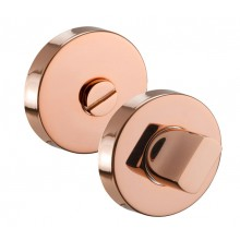 Copper Bathroom Thumb Turn Lock and Release A87001CP