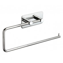 Stick on Towel Rail for Bathrooms with Polished Stainless Steel Finish A3204P
