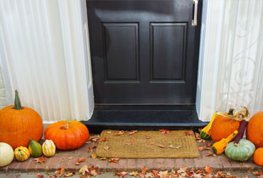 4 Front Door Halloween Decorations