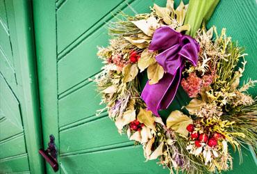 Door Decorations for New Year Parties