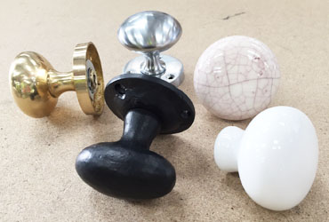 Reuse Old Door Knobs
